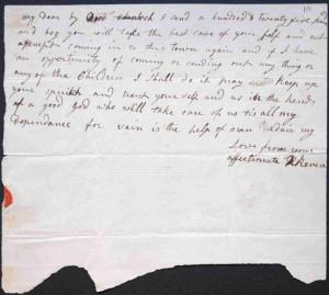name paul revere rachel revere letter to paul revere 1798