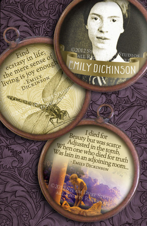 Emily Dickinson Poetry & Quotes - Poems, Portraits, etc. - 1.5 inch ...
