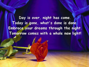 Day is Over Life Quotes / Share Life Quotes