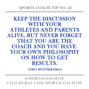 Good Sportsmanship Quotes Athletes Your athletes and parents