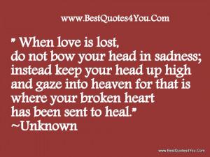 God Heals Broken Hearts Quotes