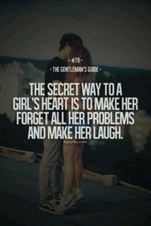 The Secret to her Heart...