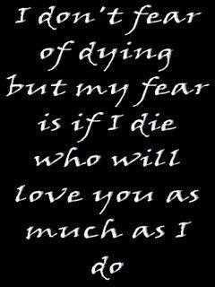Love Quotes About Dying