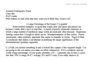 Buy college application essay joke