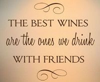 Great wine quote...