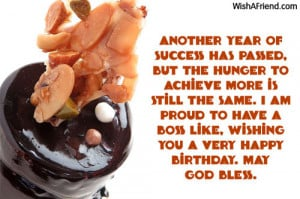 Happy Birthday Wishes for Boss Quotes