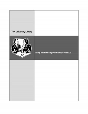 Giving and Receiving Feedback Resource Kit Giving and Receiving ...