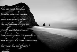 buddha love yourself quote