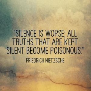 Poisonous Quote Silence Phrase Quotes Picture