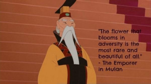 Uplifting quotes sayings flower bloom the empore in mulan