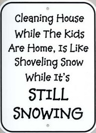winter jokes-mother's wisdom-cleaning funny