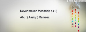 never broken friendship :-) :-)abu :) aasiq :) rameez , Pictures