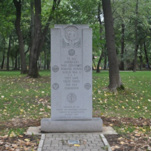 Romanian Memorial To All Americans Who Served & Protected Them During ...