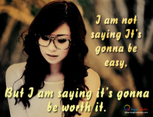 ... It's gonna be easy Alone Quotes Broken Heart Quotes Life Quotes