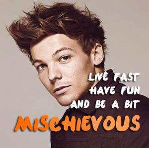 Louis Tomlinson Quotes About Happiness Image