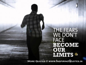 Fear Quotes, Quotations about Fear Inspirational Quotes on Fear Images ...