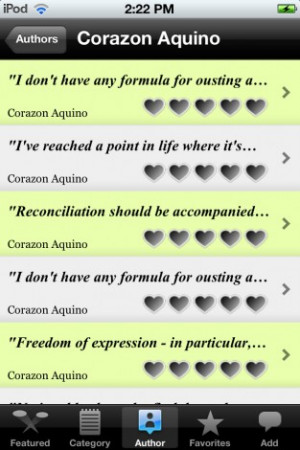 Famous Filipino Quotes Lite contains collection of quotes written by ...