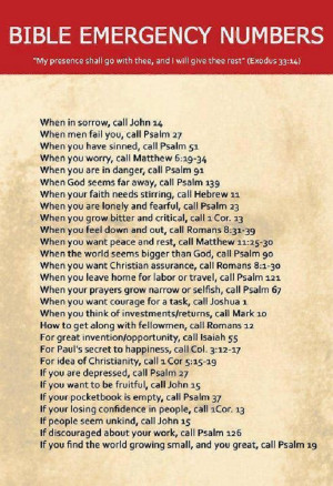 ... life, turn to this list of the most important numbers from the Bible