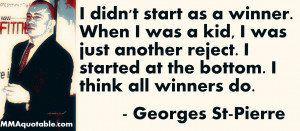 10 Great Quotes from GSP's The Way of the Fight
