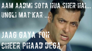 Whistle-Worthy Salman Khan Movie Quotes!