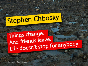 Stephen Chbosky Life Quotes