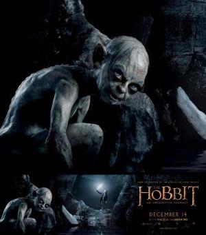 The Hobbit Gollum Movie Image