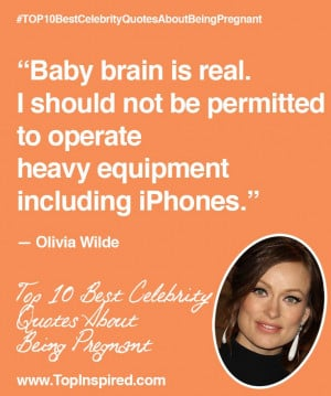 Top 10 Best Celebrity Quotes About Being Pregnant