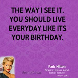 Paris Hilton Funny Quotes