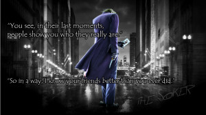 The Joker motivational inspirational love life quotes sayings ...