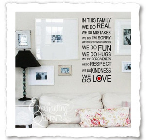 Family Quotes | Vinyl Wall Decals - Home Quotes