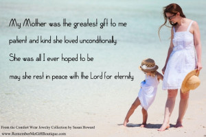 Loss of a Mother – Memorial Gift Ideas for Daughters