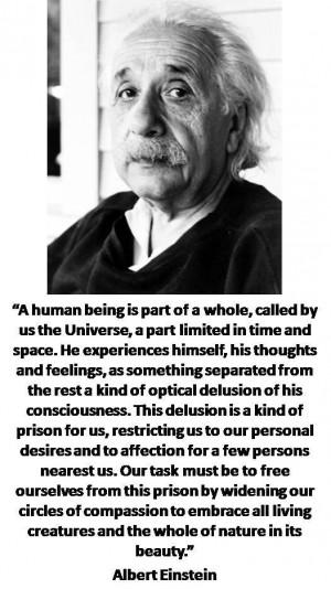 DEISM: Quotes- Albert Einstein