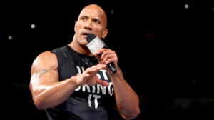 ... his famous one liners which is very well known as The Rock quotes