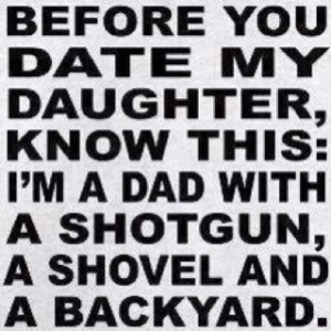 Over protective daddies...