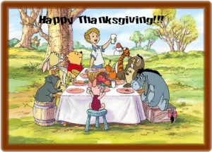 winnie the pooh thanksgiving winnie the pooh amp piglet disney ...