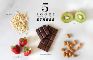 Foods That Help Reducing Stress and Anxiety