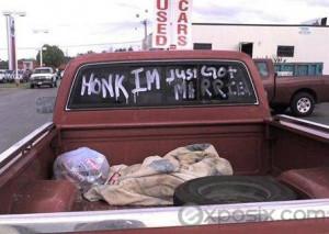Redneck Newlyweds Limo Funny