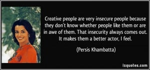 funny quotes about insecure people