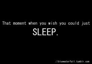 Sleep quote #1