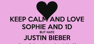 keep calm and hate justin bieber 48 png