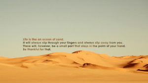 sand desert quotes inspirational 1920x1080 wallpaper Nature Deserts HD