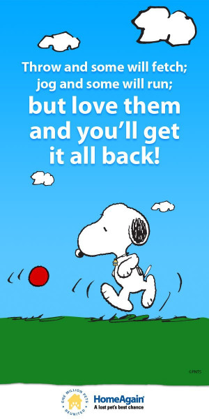 Must love #dogs! Inspirational dog quote & cute Snoopy pin There is ...