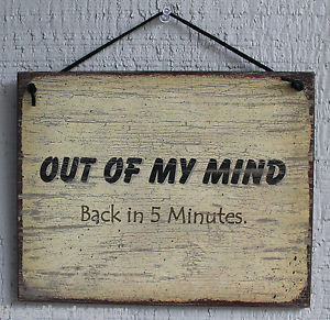 ... -of-Mind-Back-5-Minutes-Funny-Humor-Quote-Saying-Wood-Sign-Wall-Decor
