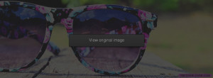 Pink Flowery Sunglasses Facebook Covers More Cute Covers for Timeline