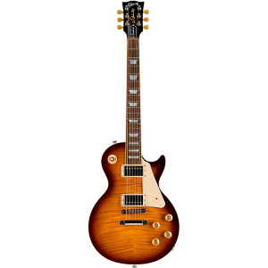 gibson les paul standard 2015 electric guitar tobacco sunburst