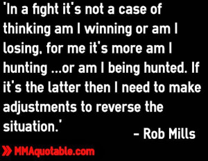 Rob Mills on winning, losing, hunting and being hunted