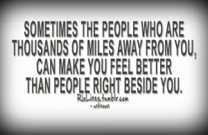Moving Away Quotes Tumblr Miles away from you, can