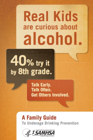 Family Guide to Underage Drinking Prevention