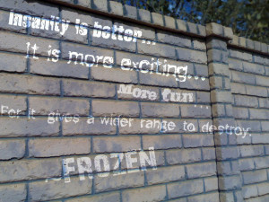 Frozen Quote by bloodedthorn