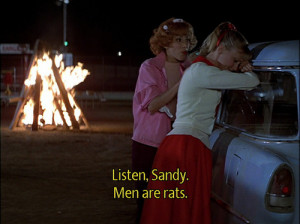 grease, love, movie, movie quote, screenshot